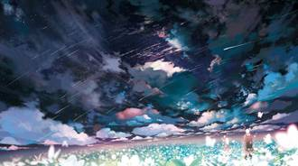 ♡ Anime aesthetic clouds♡