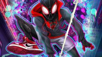 Spider man INTO  verse