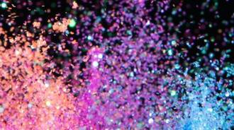 Glittery background for laptop