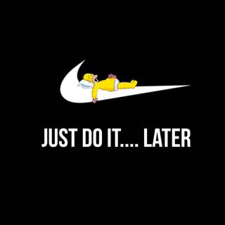 just do it....l8ter