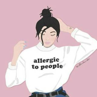 Allergic to people
