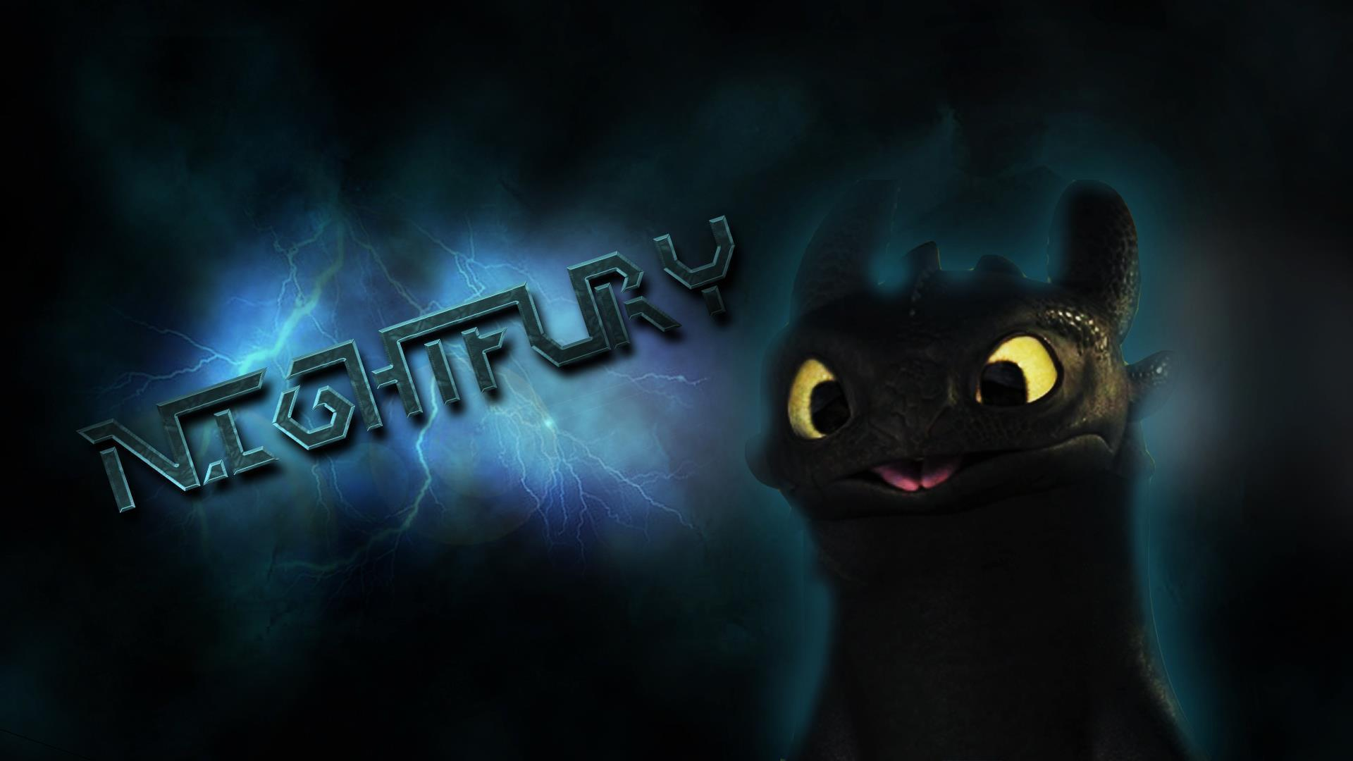 Night Fury Wallpaper - Viewing Gallery