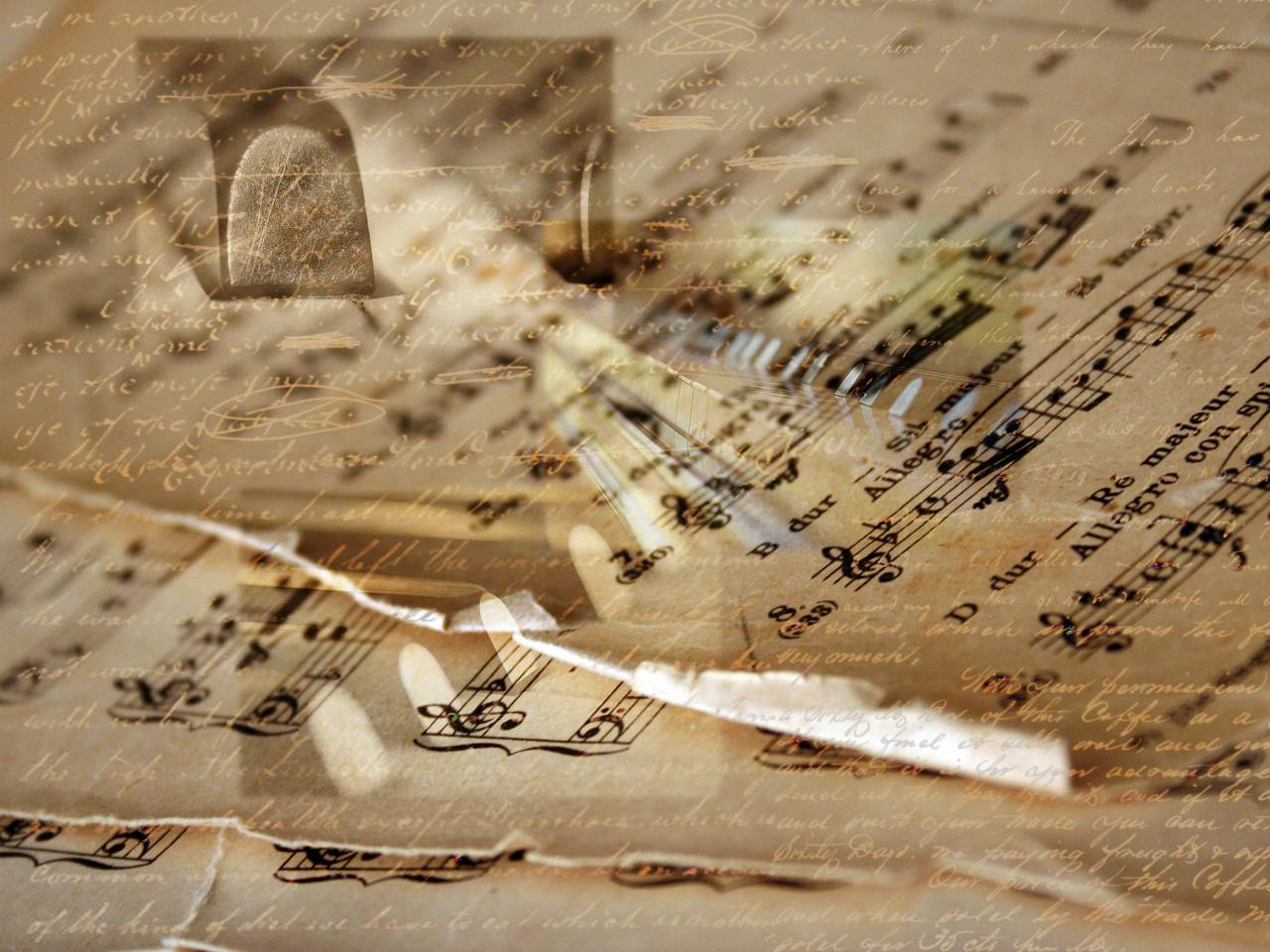 abstract piano art wallpaper - photo #47