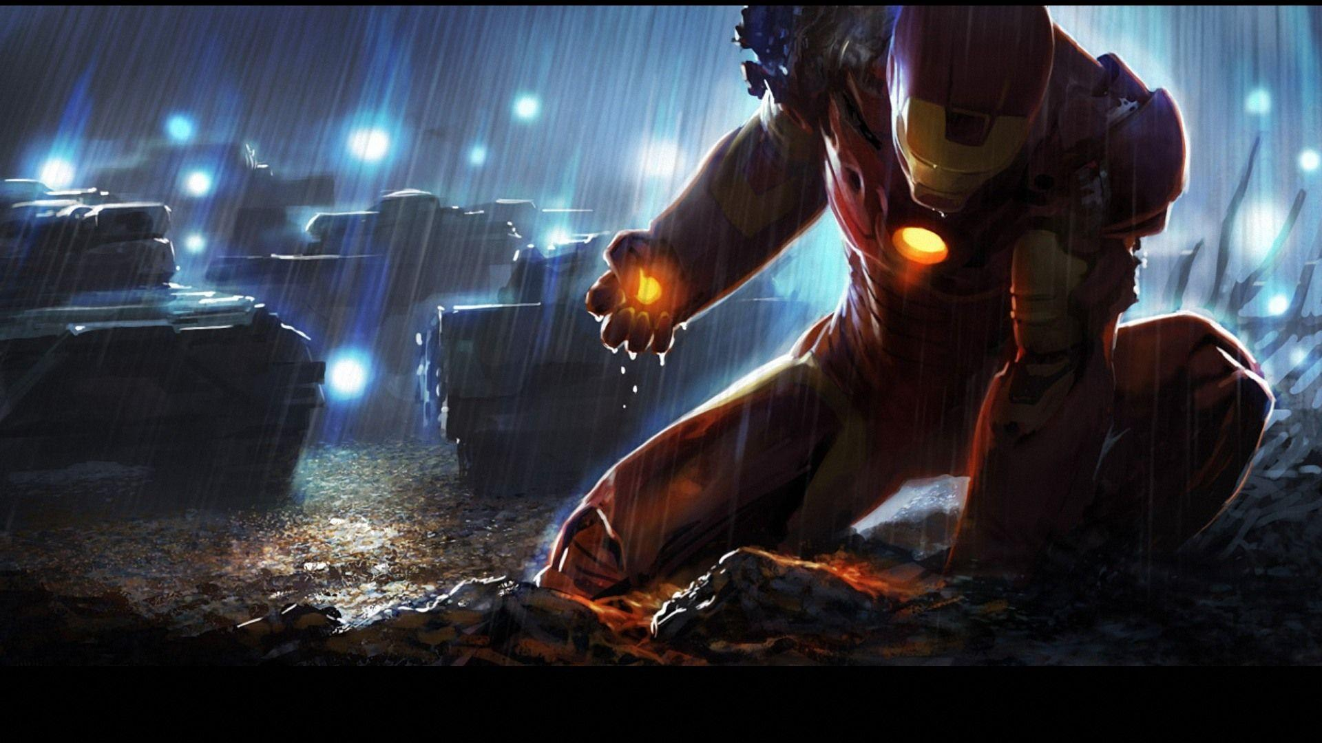Iron Man Wallpapers Full Hd Desktop Background: Iron Man HD Wallpapers