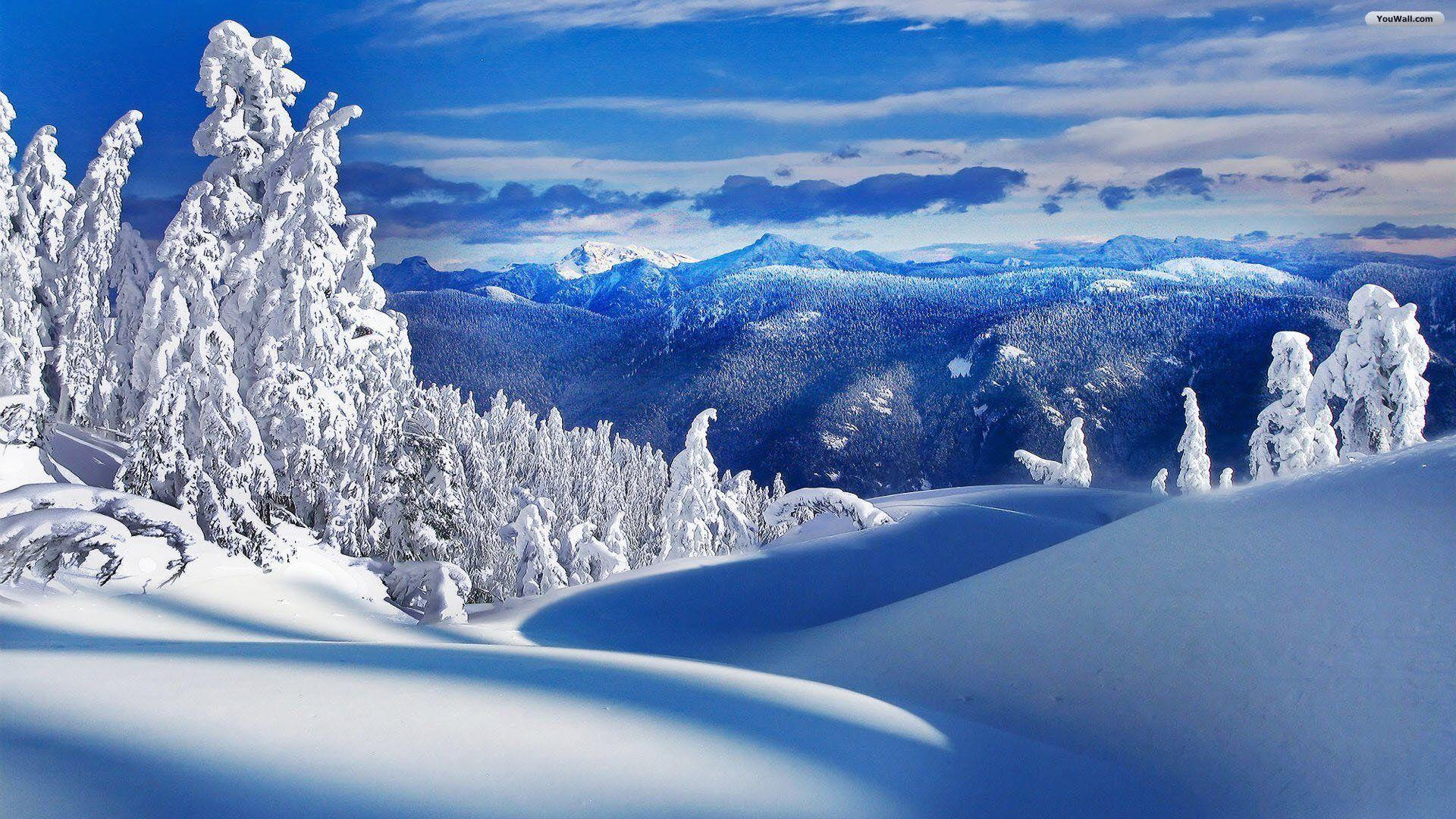 Winter Landscapes Wallpapers Wallpaper Cave