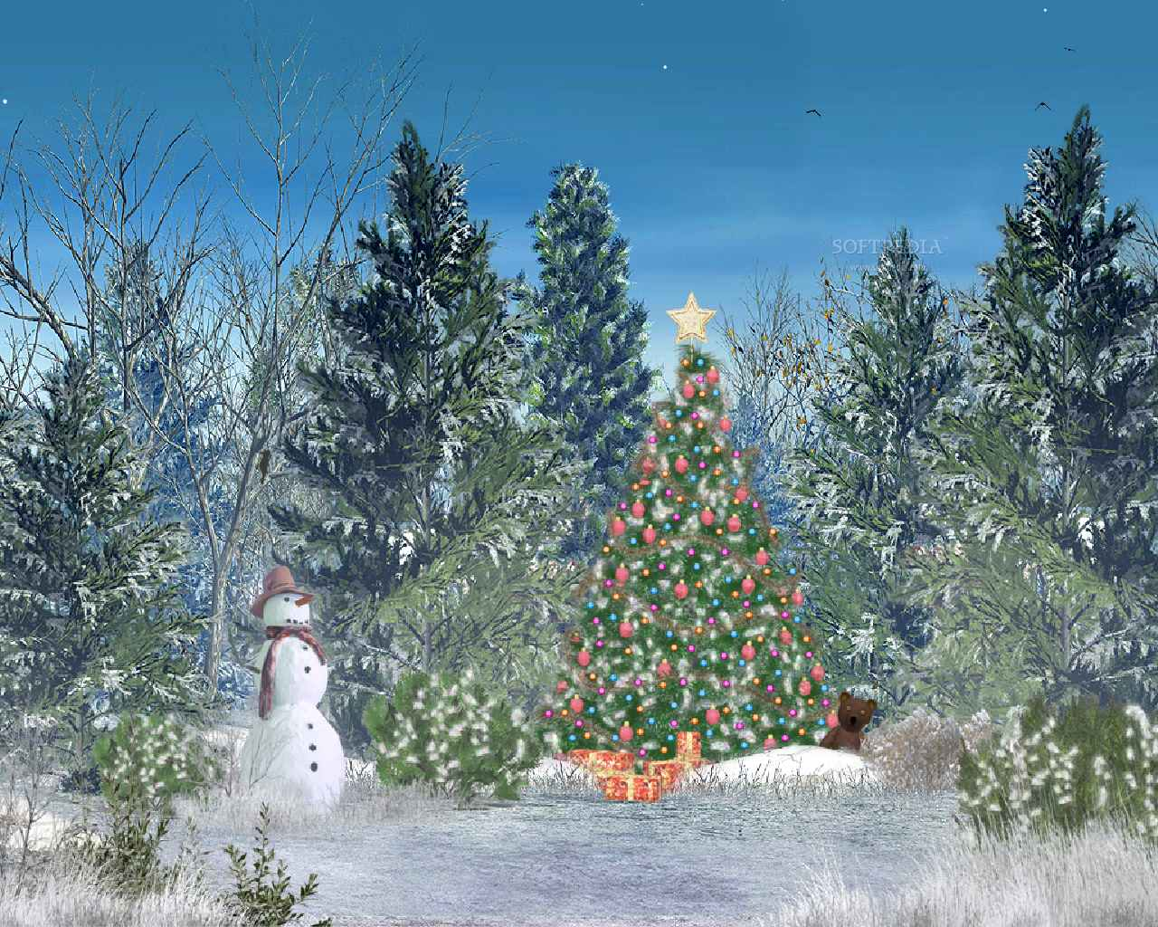 Free Christmas Wallpapers For Computer Desktop Wallpaper Cave