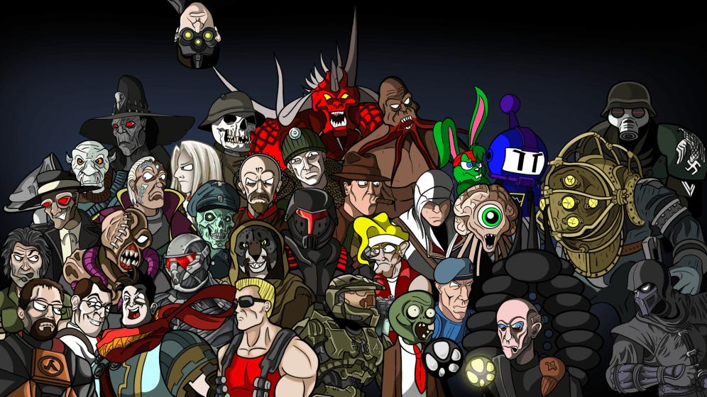 gamer wallpaper art d5aomlw - photo #16