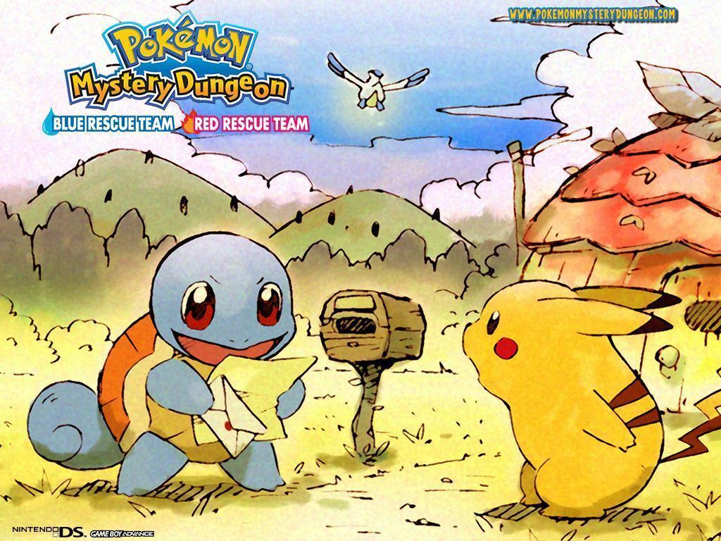 Pix For > Pokemon Red Rescue Team Wallpapers