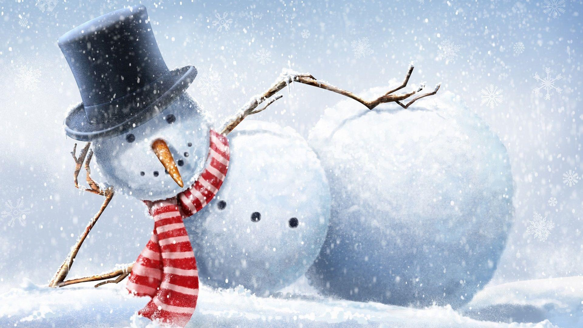 Image For > Free Snowman Desktop Wallpapers