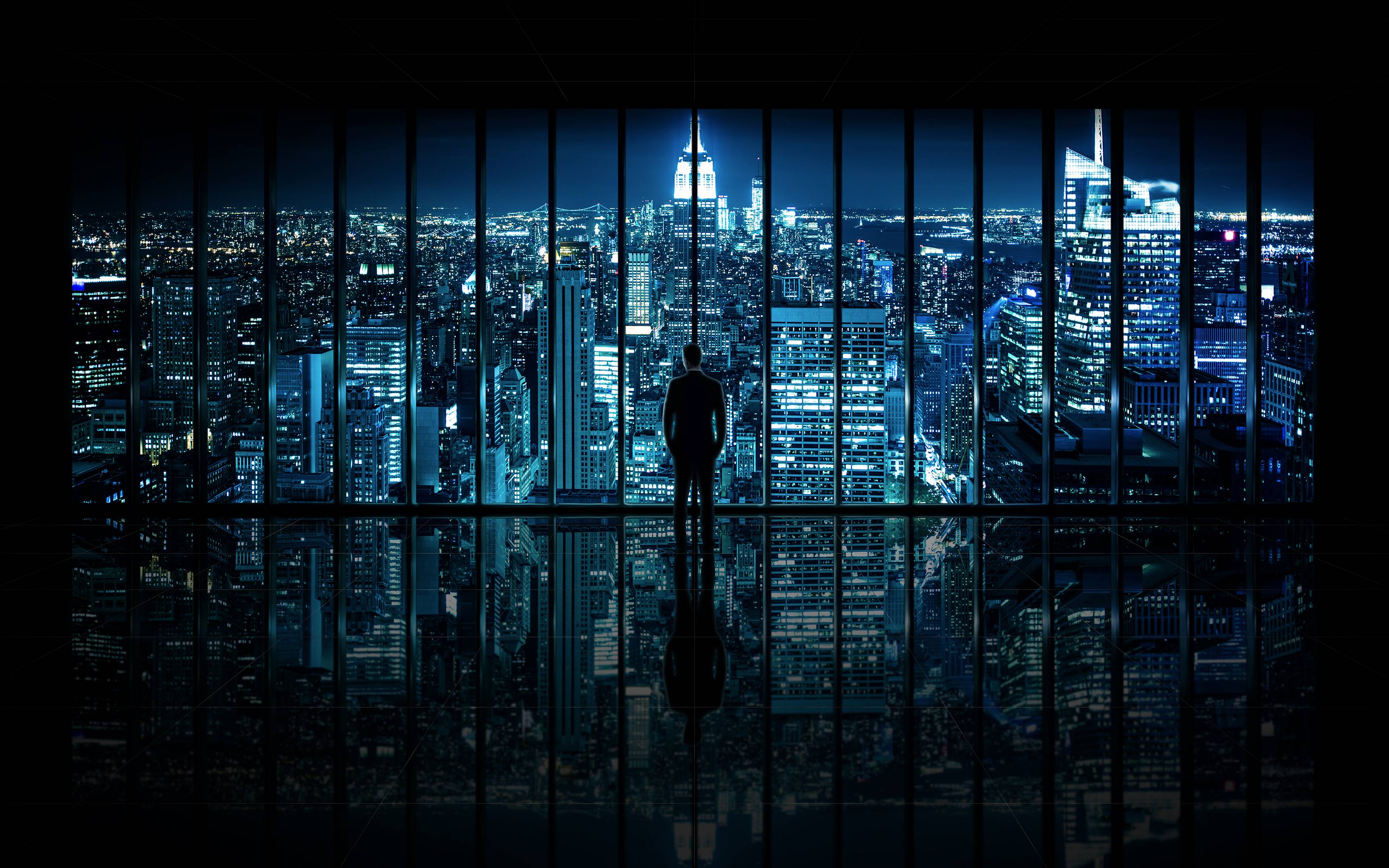 Images For > Gotham City Background