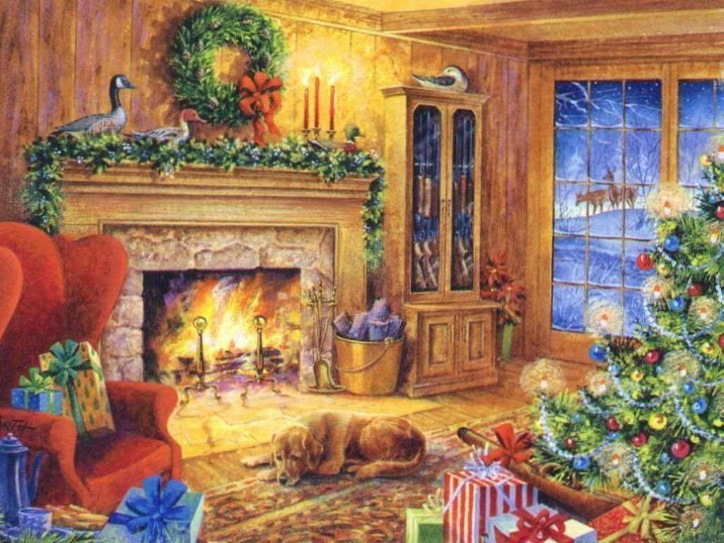 Victorian Christmas Wallpapers ...