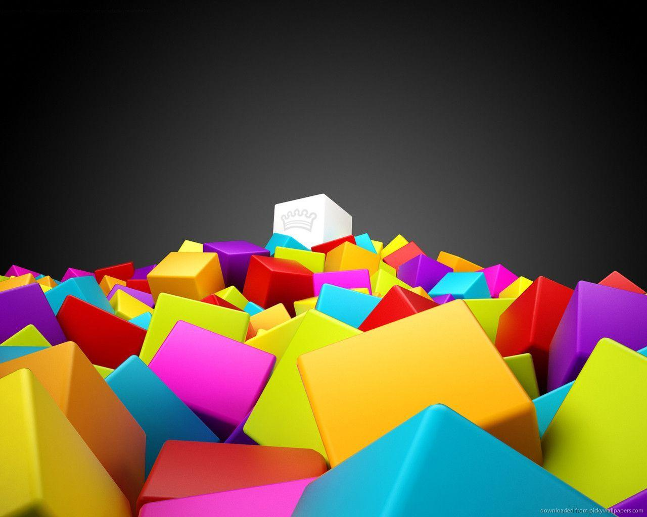 cool 3d colorful wallpaper love - photo #31