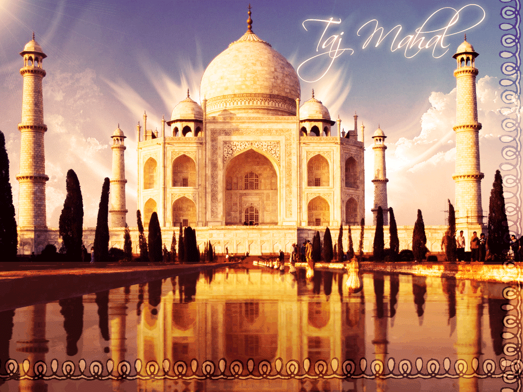 Taj mahal wallpapers wallpaper cave for India wallpaper 3d