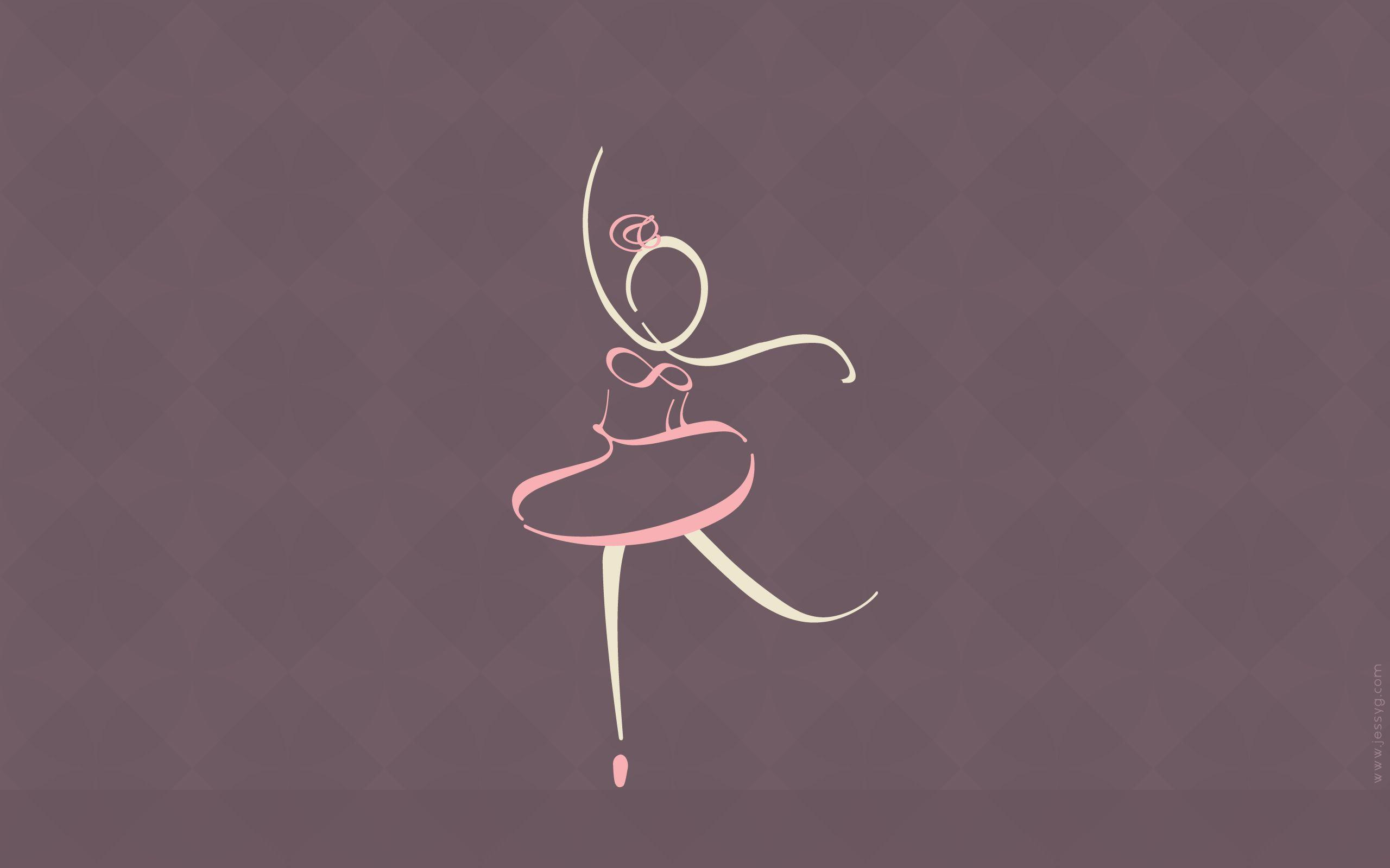 Typographic Ballet Wallpapers by jessyG22