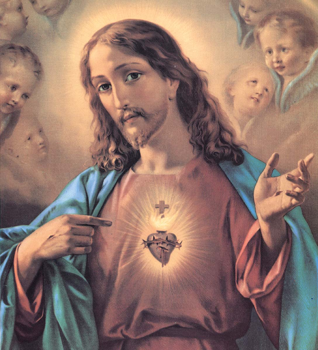 Image For > Sacred Heart Of Jesus Heart
