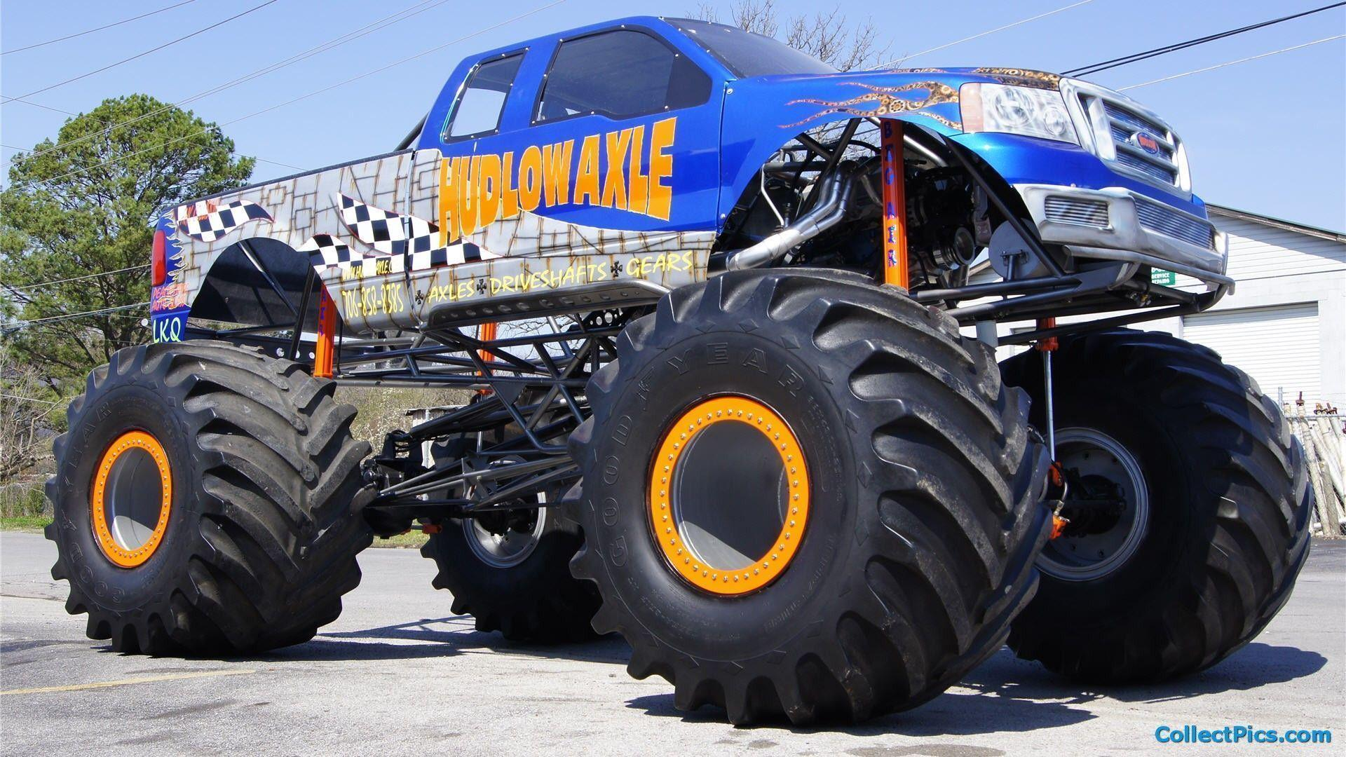 Monster Truck Wallpapers Wallpaper Cave Total Update