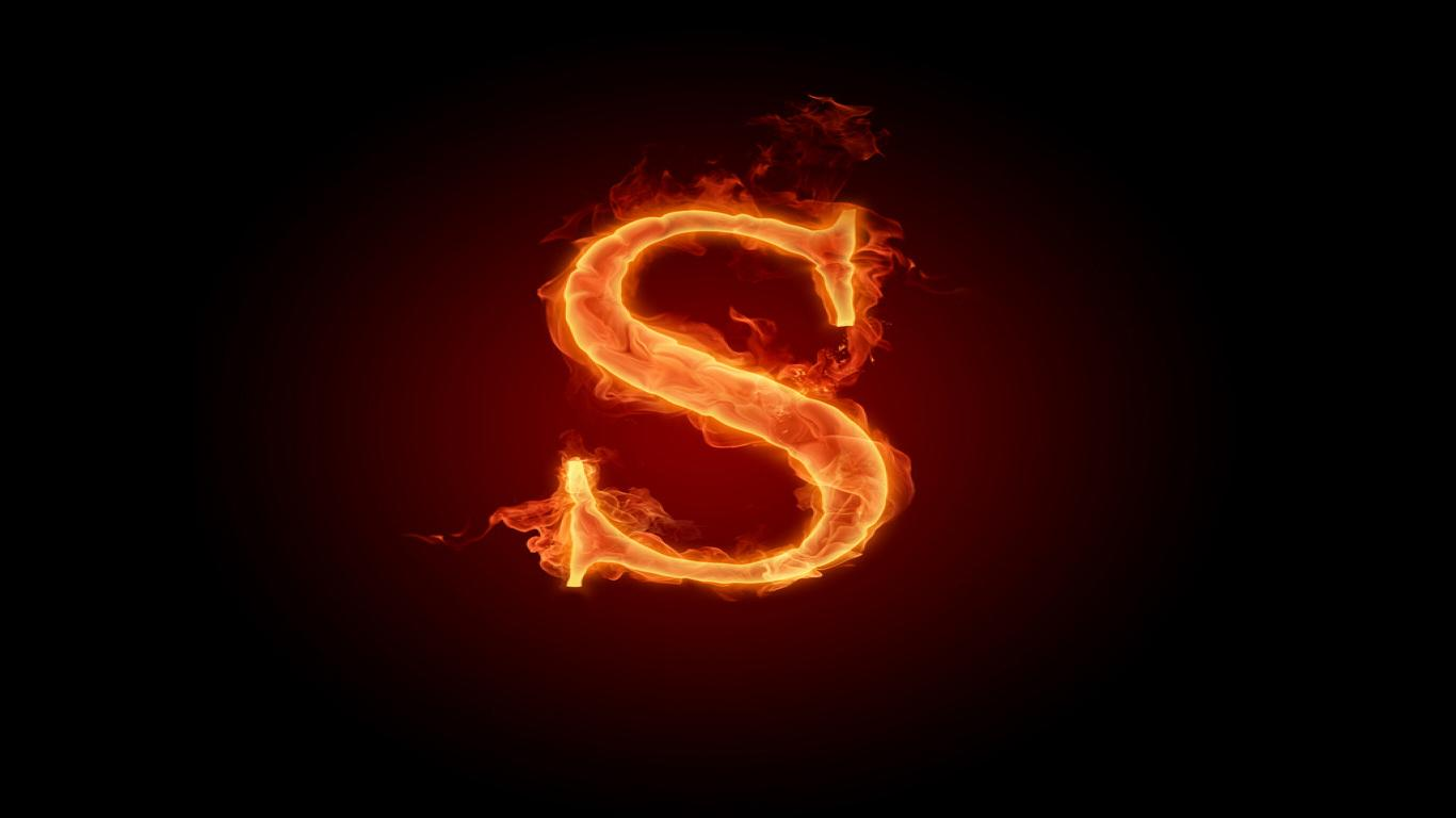 S S Letter In Love Wallpapers Wallpapers For  I Love S