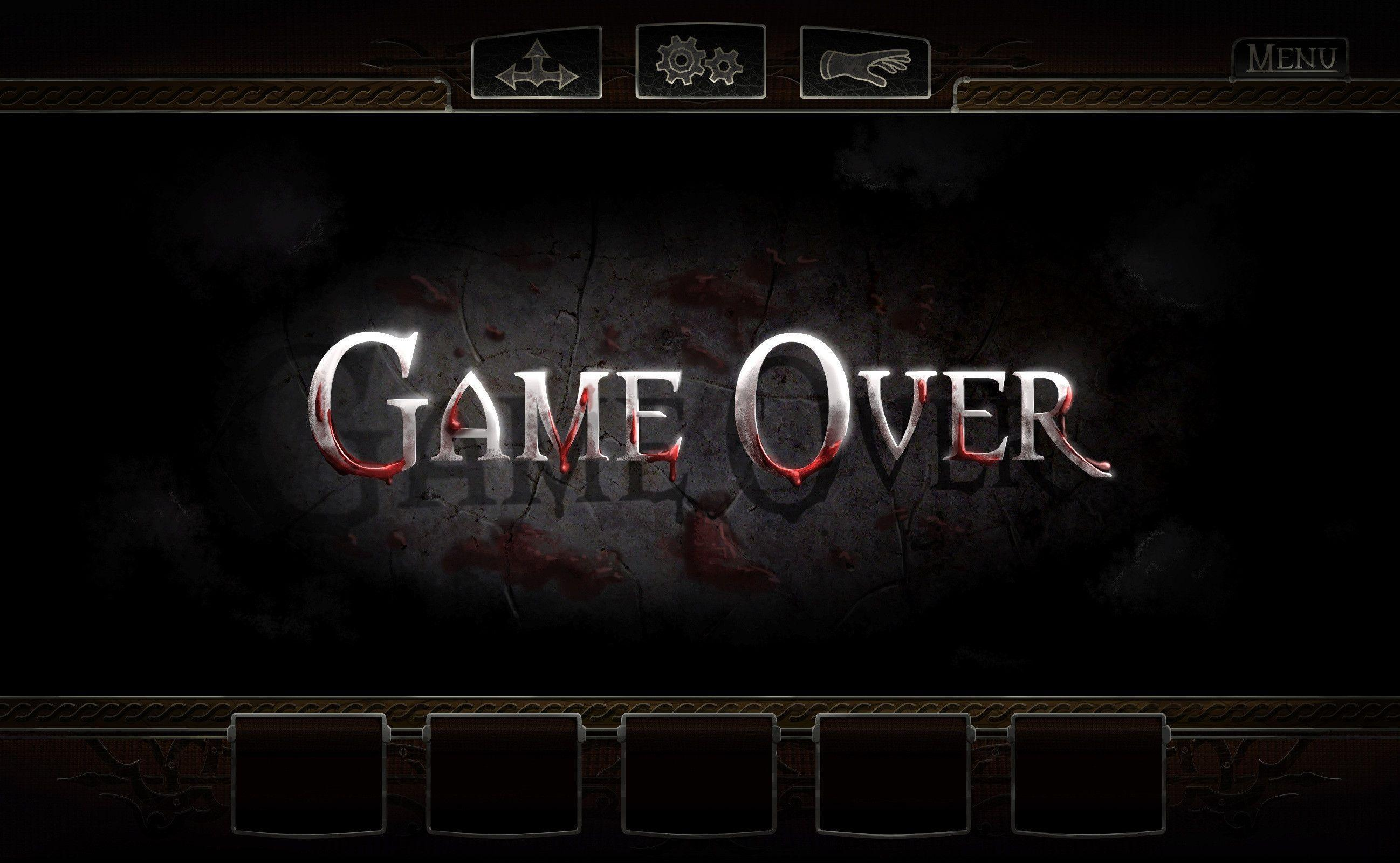 Game Over Wallpapers Wallpaper Cave
