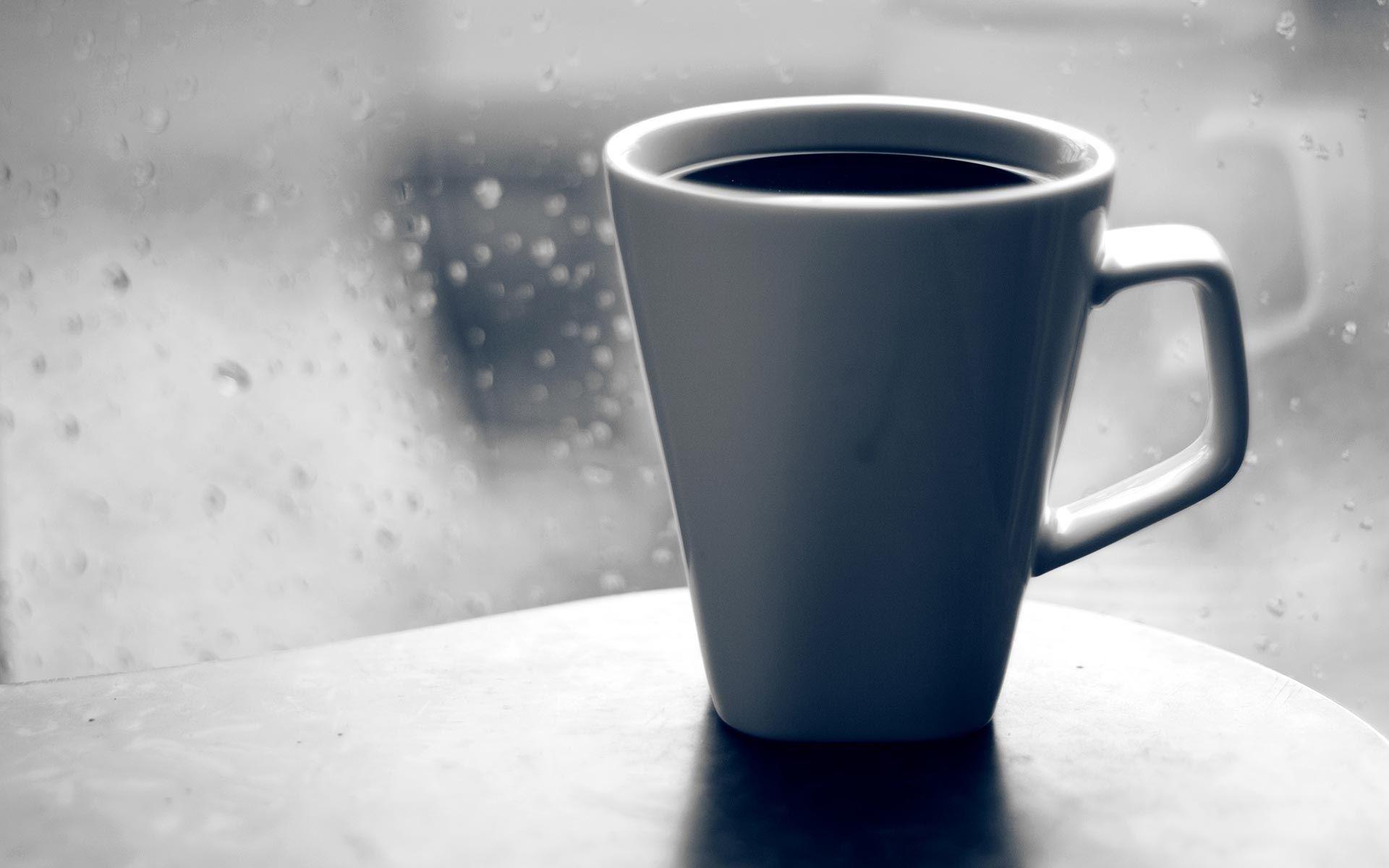 hot coffee white background - photo #36