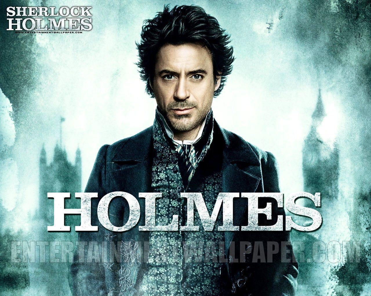 Robert Downey Jr Sherlock Holmes Wallpapers