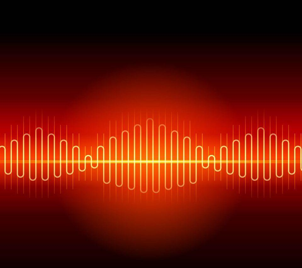 Волны музыки картинка