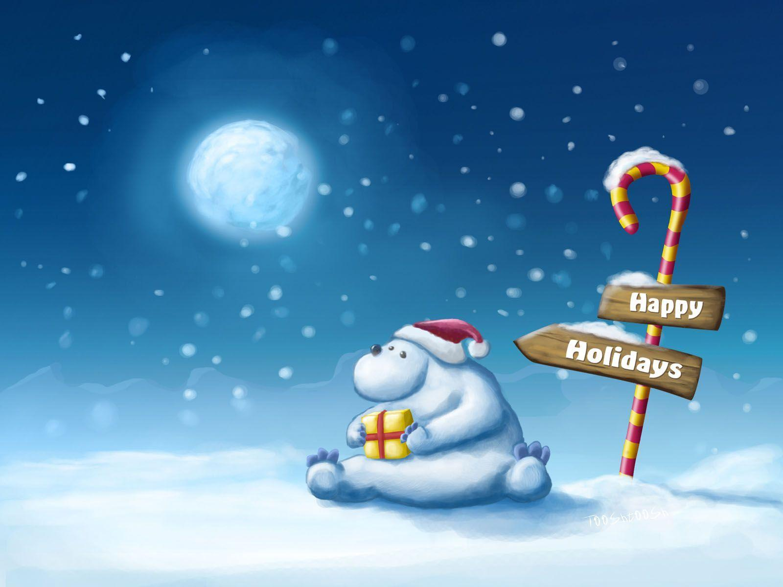 free christmas desktop background genovic