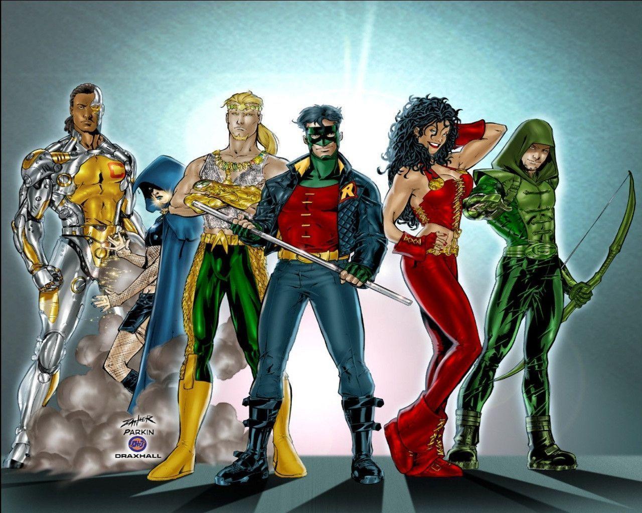 Teen Titans Wallpapers - Wallpaper Cave