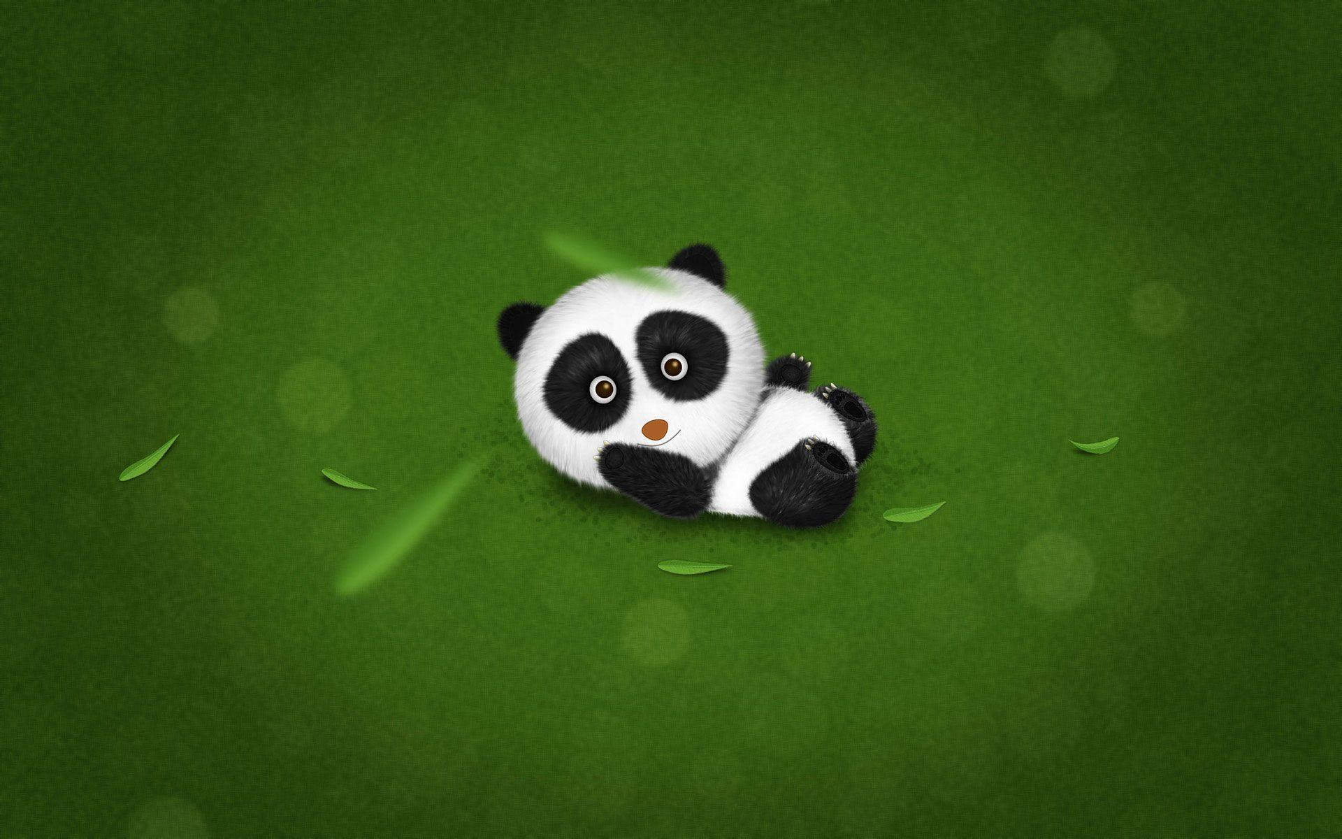 background wallpaper panda - photo #14