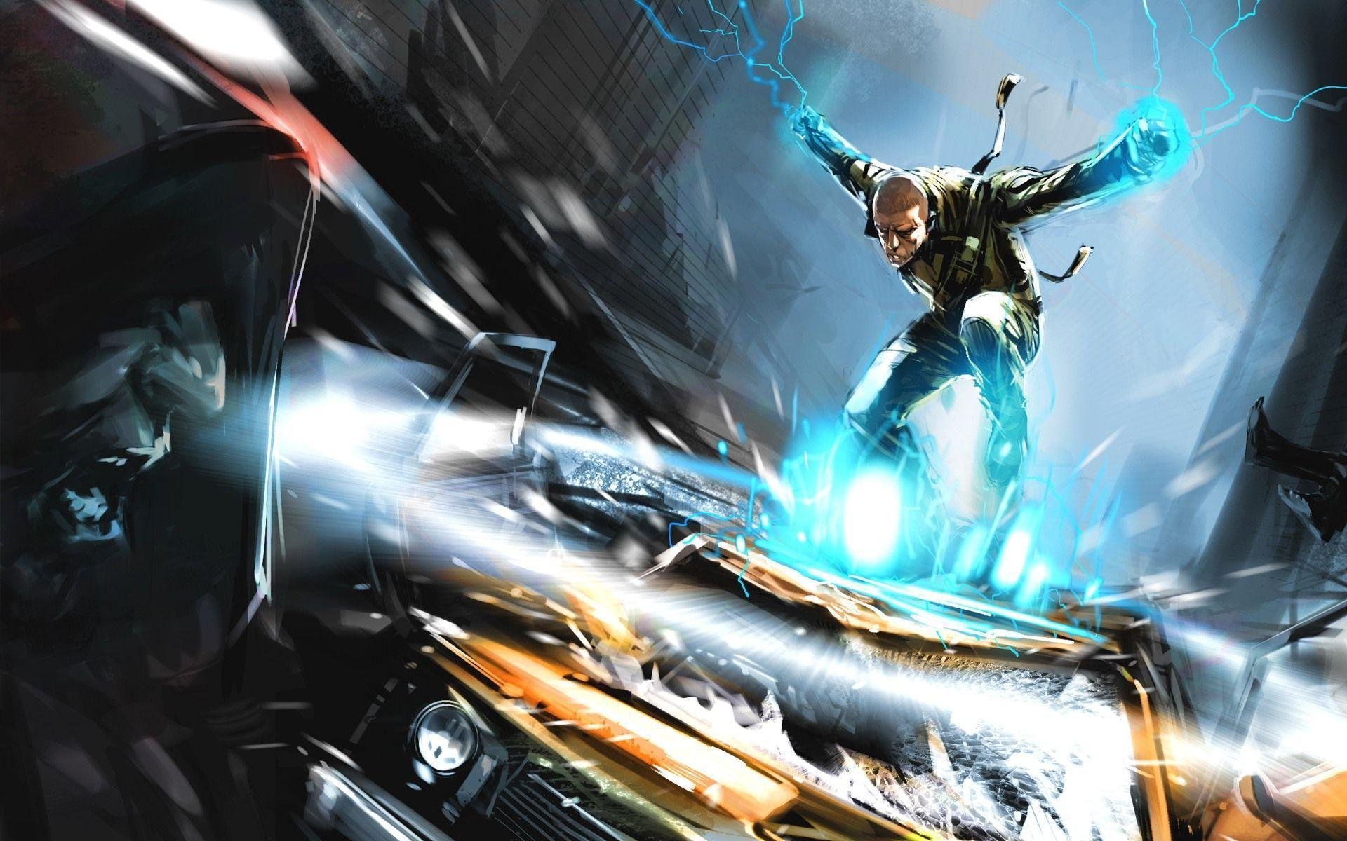Image For > Infamous 2 Wallpapers 1920x1080