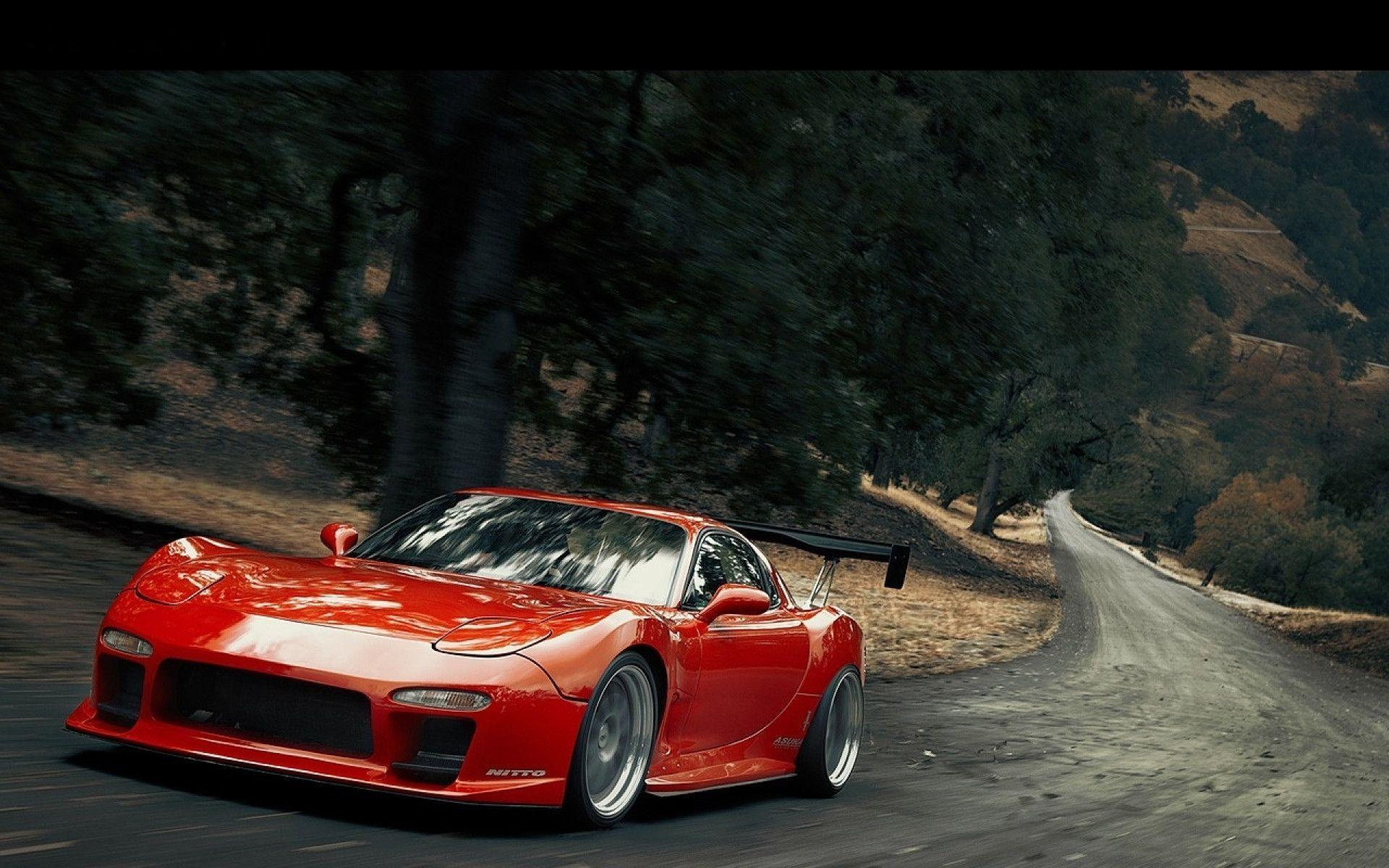 Marvelous JDM Mazda RX7 Photos Desktop Wallpaper | Car Zones