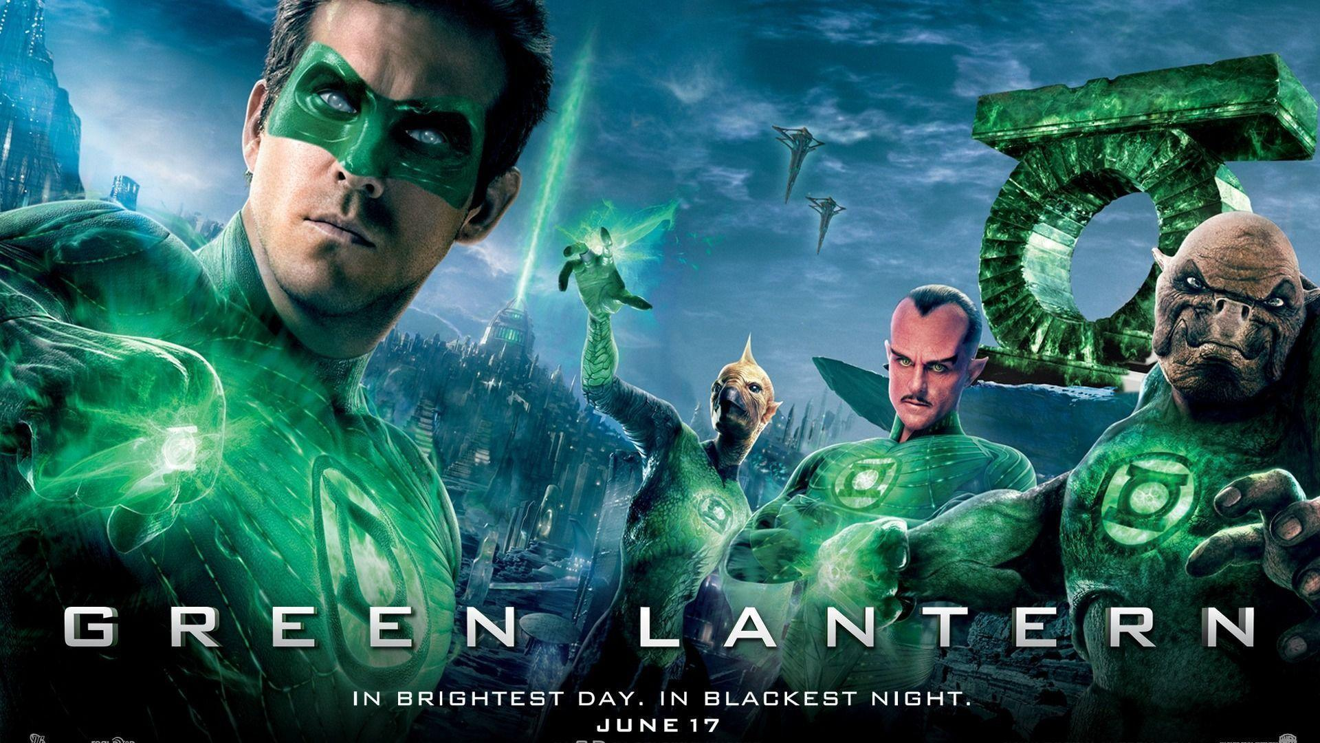 Green Lantern movie poster wallpapers
