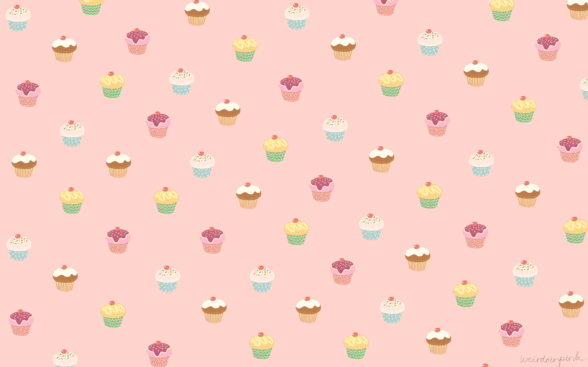 pink cupcake wallpapers