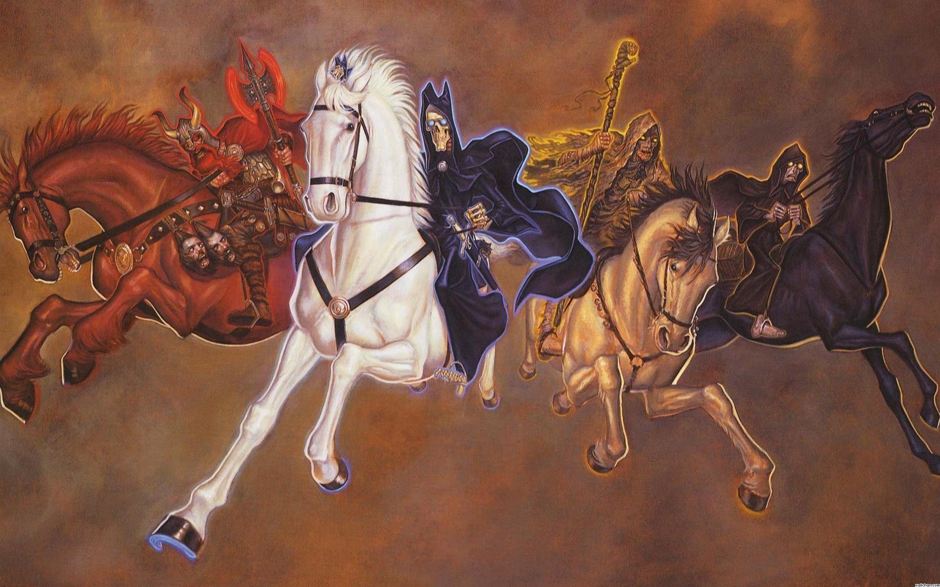 Image For > Four Horsemen Of The Apocalypse Wallpapers