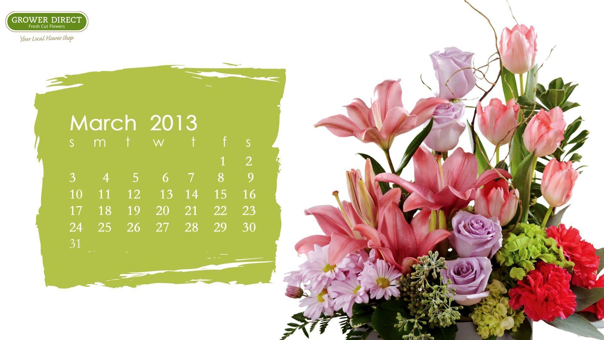 March Calendar Wallpaper Hd : March backgrounds desktop wallpaper cave