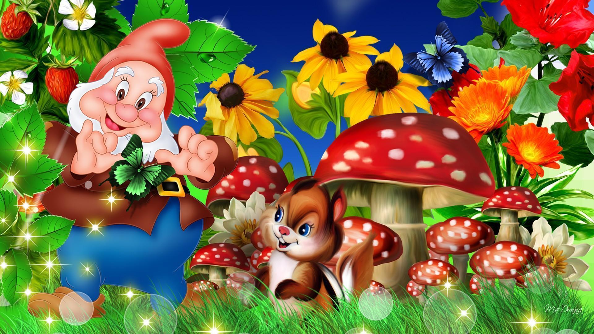 Gnome In Garden: Garden Gnome Wallpapers