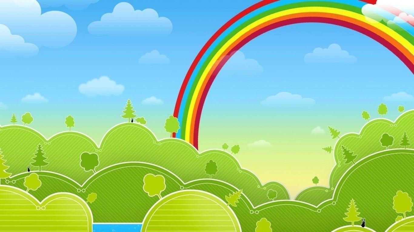 Rainbow Backgrounds Wallpaper Cave
