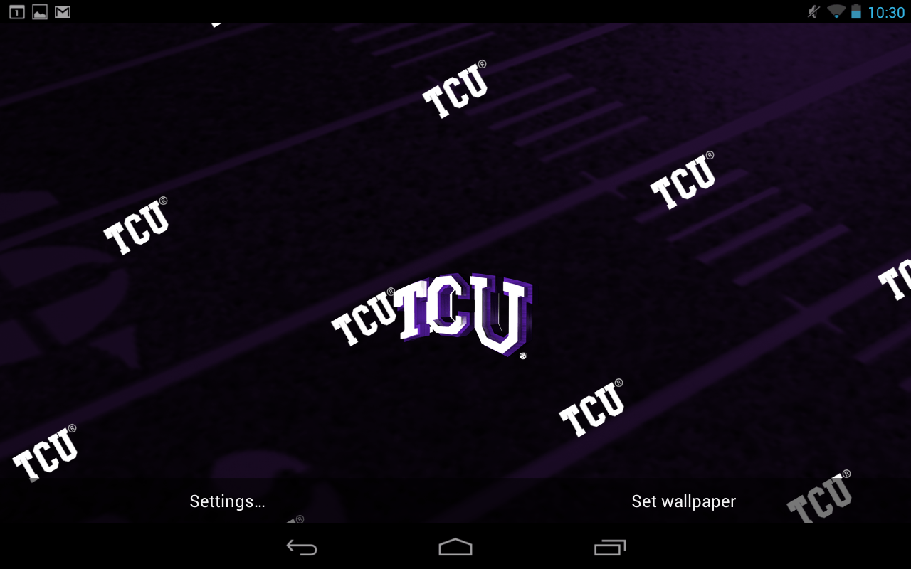 tcu wallpaper for android