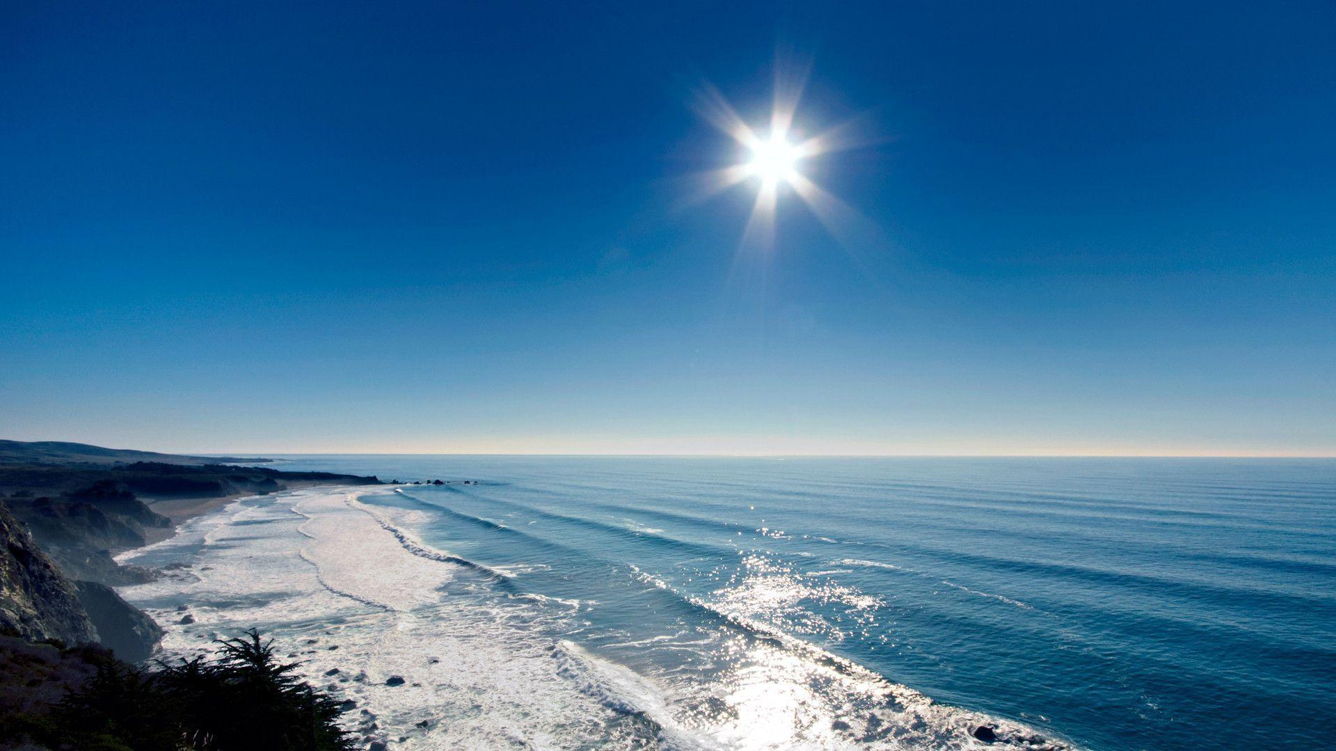 free ocean desktop wallpapers