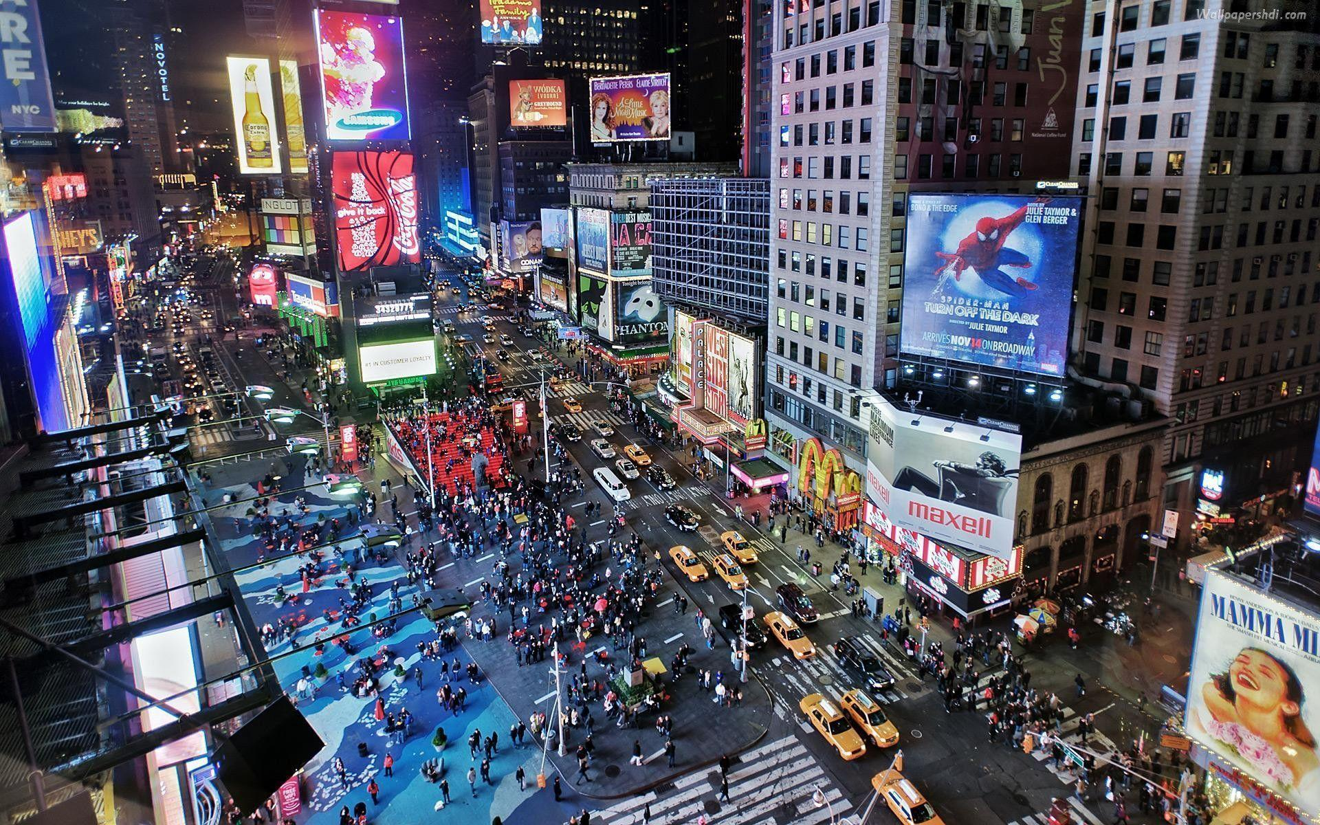 Times Square (id: 178063) | WallPho.com