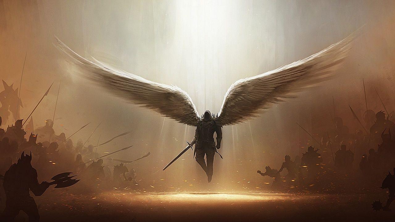 Retrospective Reveal: Archangel Tyrael by Holyknight3000 on DeviantArt
