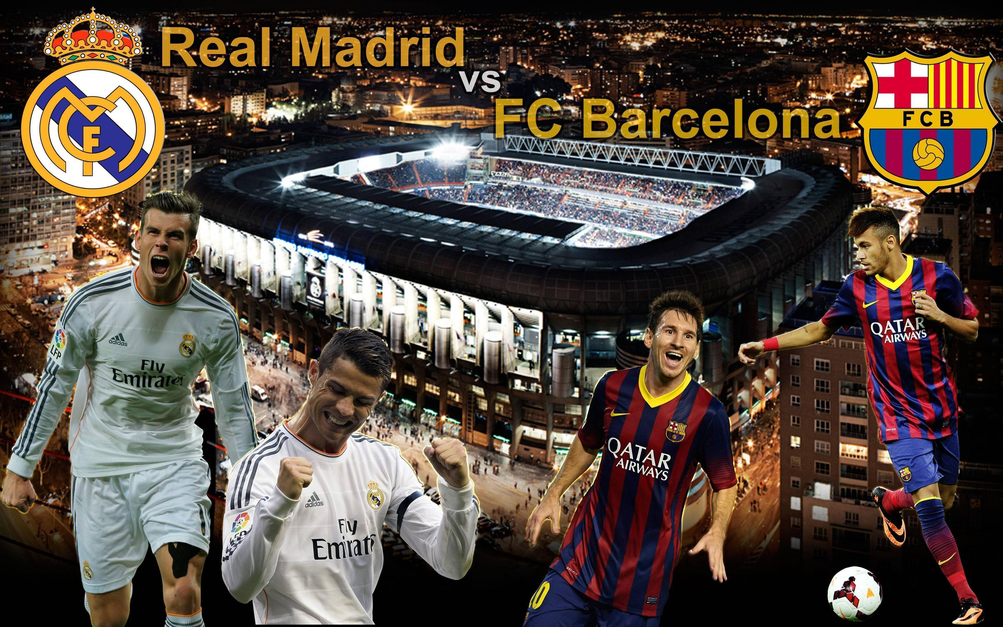 FC Barcelona vs Real Madrid 2014