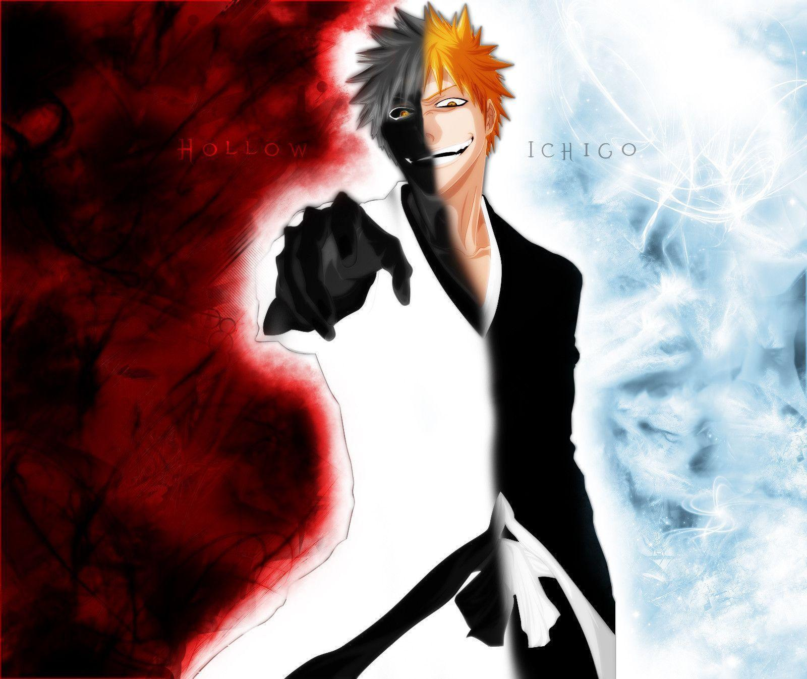 Bleach Ichigo Hollow Wallpapers - Wallpaper Cave
