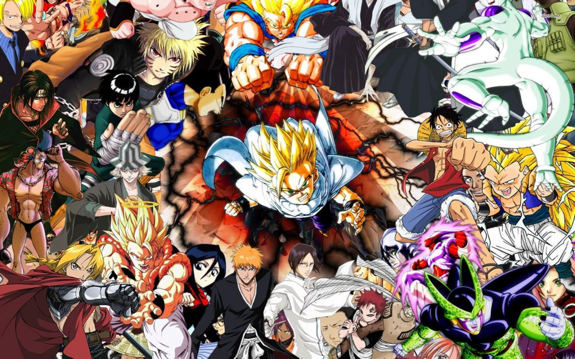 Manga Heroes Wallpaper