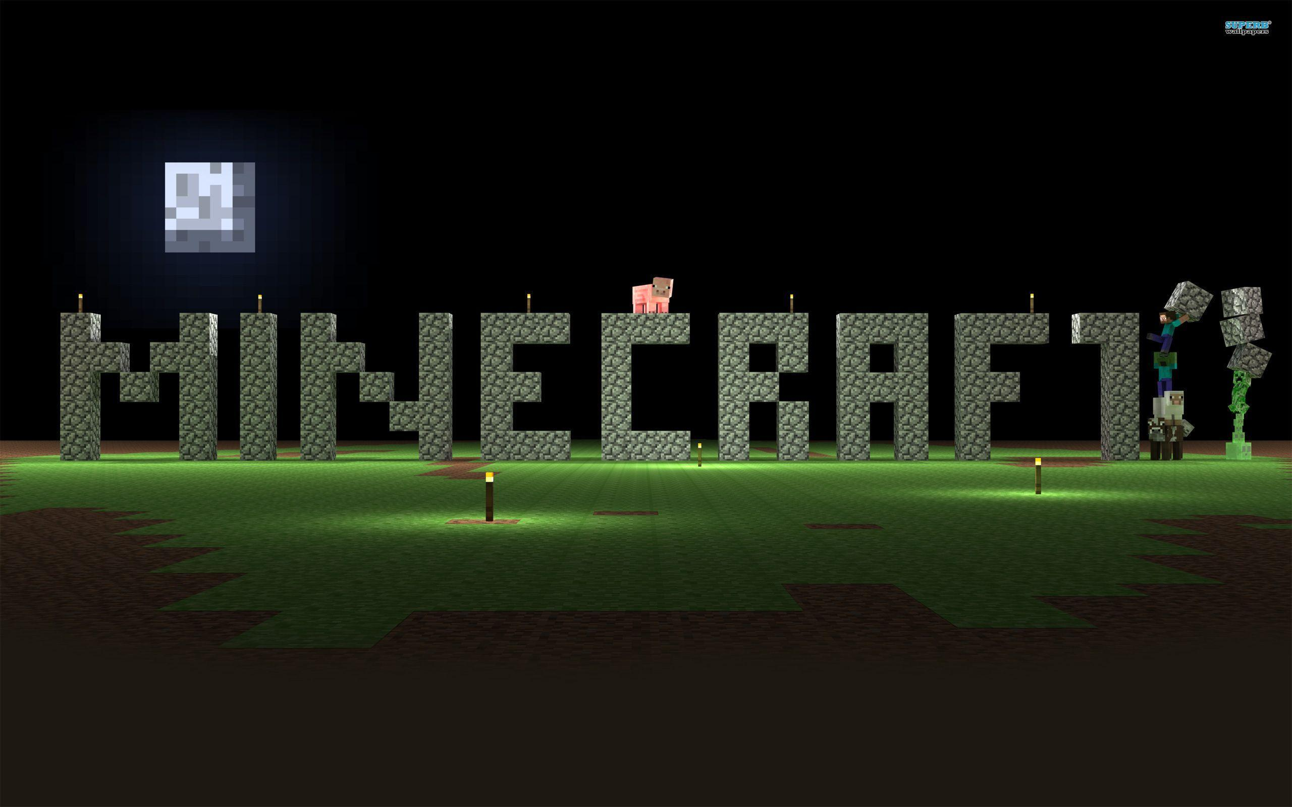 Wallpapers For > Awesome Minecraft Wallpapers For Desktop