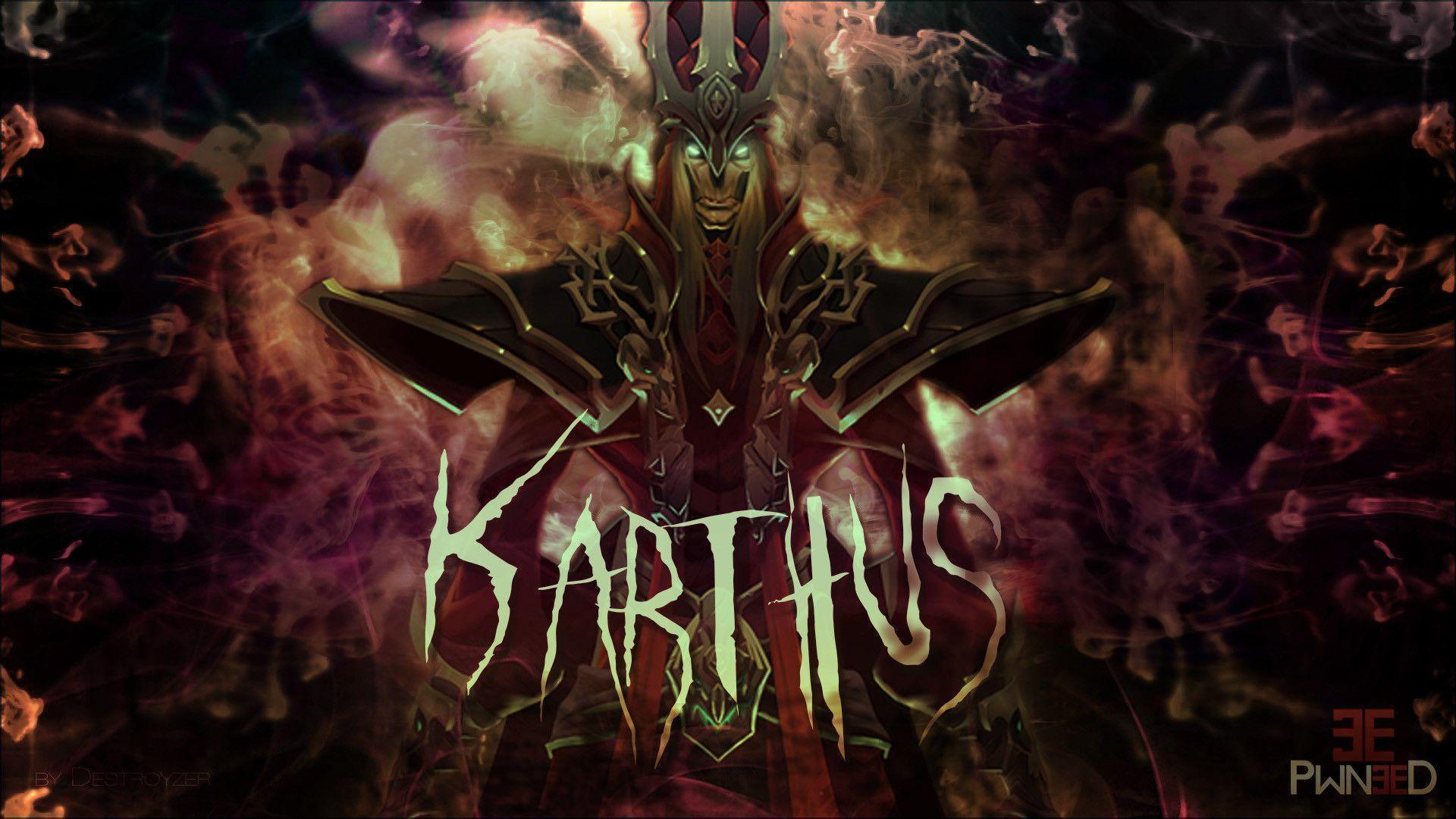 Pentakill karthus wallpaper