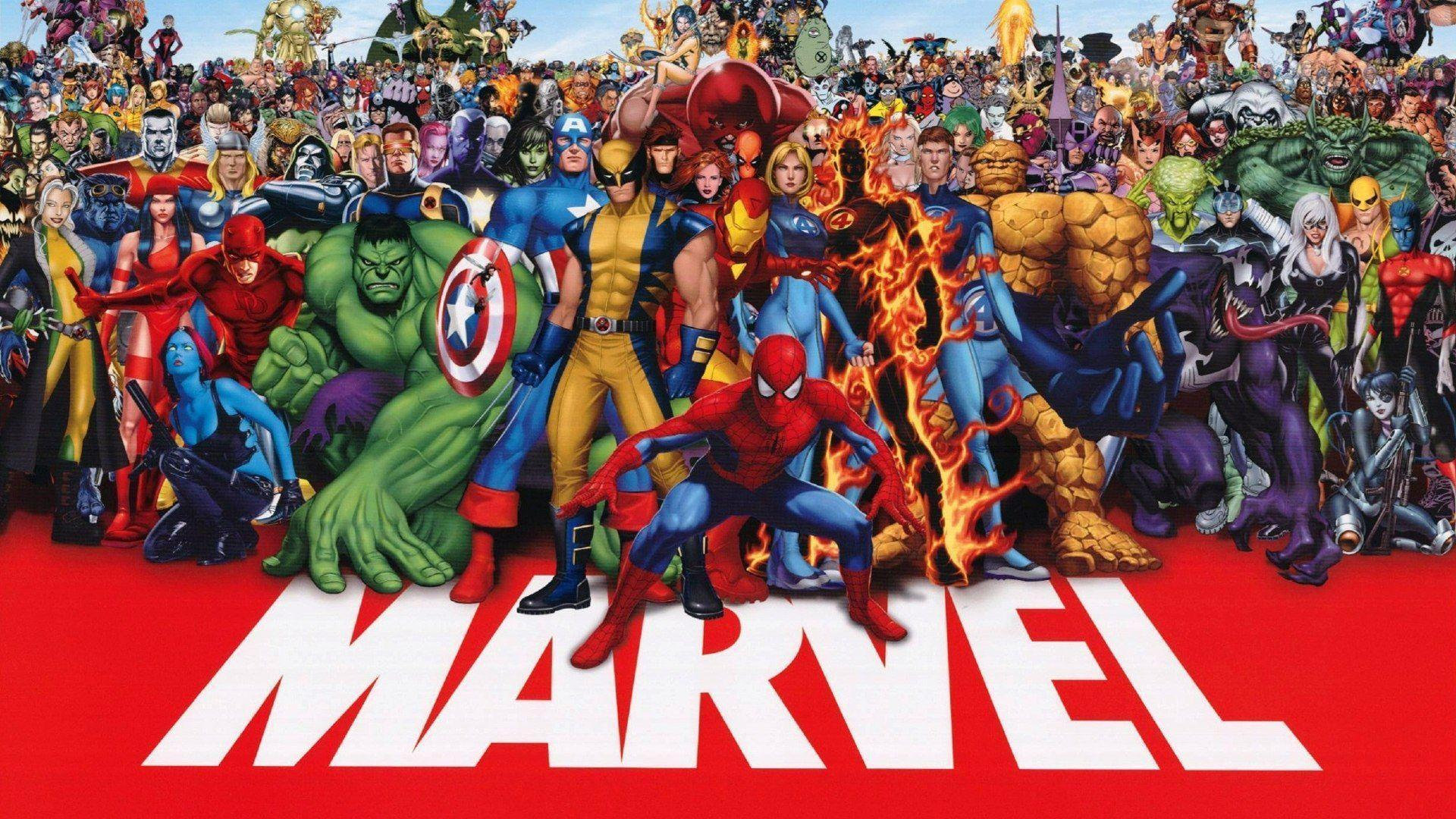 Marvel Superhero Wallpaper 22184 Wallpapers HD