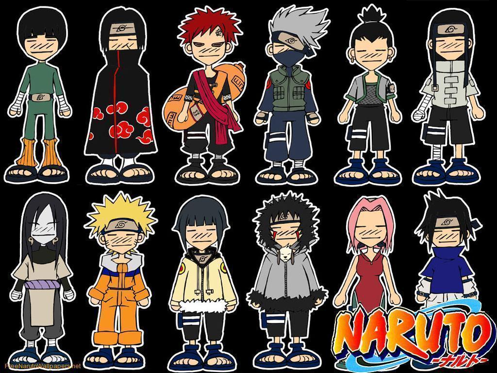 Anime Characters Named Sakura : Naruto chibi wallpapers wallpaper cave