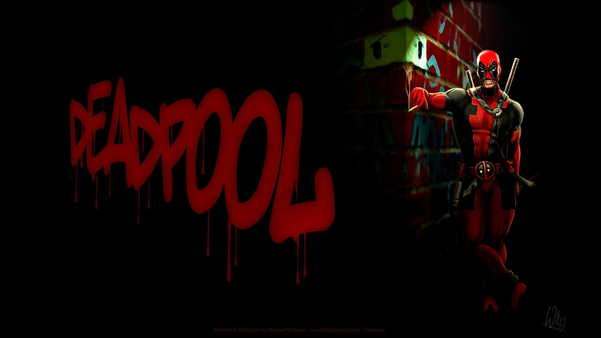 Wallpapers For > Deadpool Wallpaper 1920x1080 Hd
