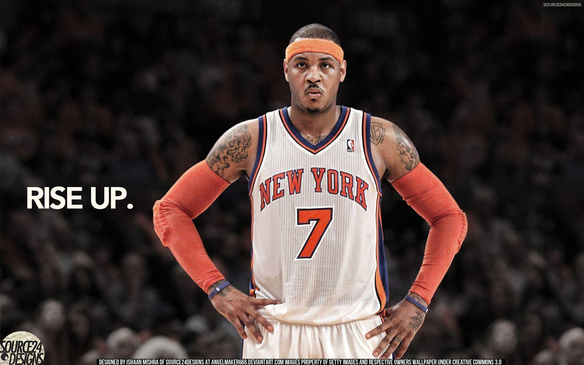Carmelo anthony wallpapers knicks wallpaper cave carmelo anthony let your game speak wallpaper by angelmaker666 on voltagebd Images