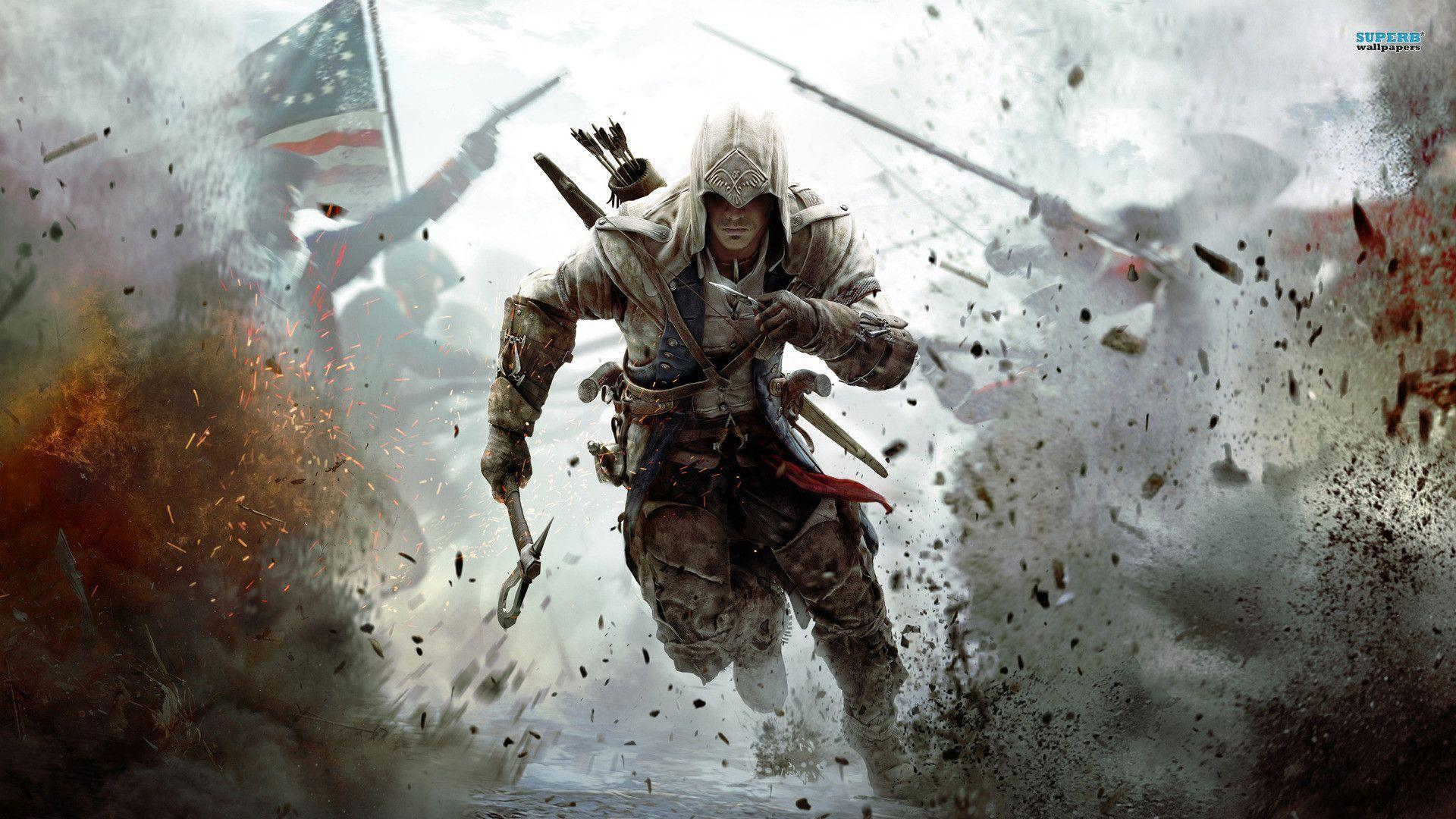 assassin creed warpaper Assassin's Creed III wallpaper - Game wallpapers - #